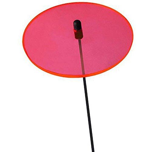 Elliot Lichtzauber Scheibe Mini, 3 cm, rot