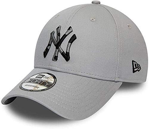 New Era 9forty New York Yankees Herren Kappe Grau