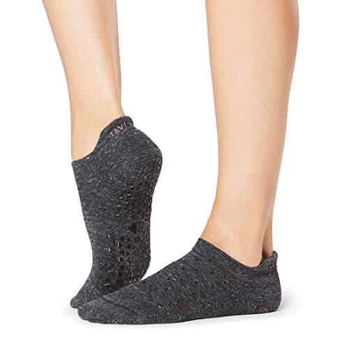 Tavi Noir Savvy Grip Socks for Barre, Pilates and Yoga (Small, Principle)