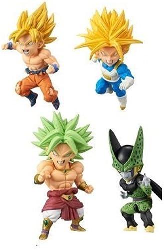 Dragon Ball Z World Collectible Figure  BATTLE OF SAIYANS  vol.2 popular set of 4