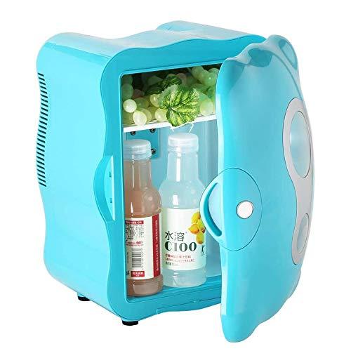 8L Kleinwagen-Kühlschrank, Mini-Kühlschrank Mit Temperaturregelung, Miniheizung Und -Kühlung Box, Für Schlafzimmer, Kosmetik, Medikamente, Zu Hause Und Unterwegs,Blau