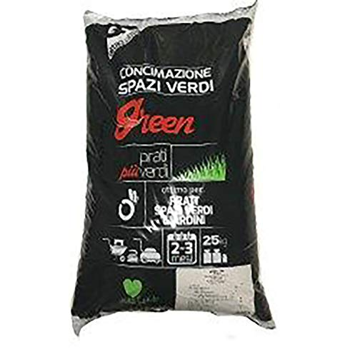 Green-Start kg.25 CONCIME 15-25-10 per Prati SPAZI Verdi E Giardini