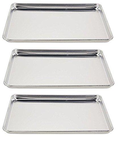 Vollrath 5303 Wear-Ever Half-Size Sheet Pans, Set of 3 (18-Inch x...