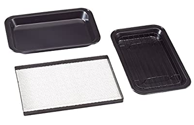 Miles Kimball Toaster Oven Pans, Set of 3