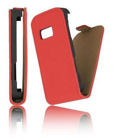 Samsung CUSTODIA VERTICALE SLIM FLIP PELLE S6500 GALAXY MINI 2 COLORE ROSSO