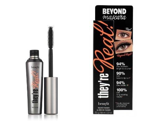 Benefit Beyond Mascara They're Real Mascara, schwarz, 8,5g, für strahlend schöne Augen