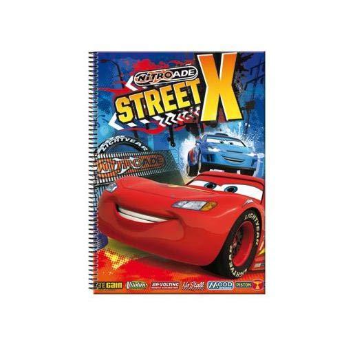 Blocs tamaño carta Multicolor CARS