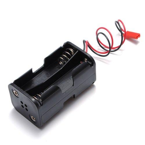 Bluelover batterij-box ontvanger voor behuizing, 4 Aa 6 V, voor Rc Jst Plug