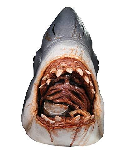 Horror-Shop Lizenzierte Der Weiße Hai Maske Jaws