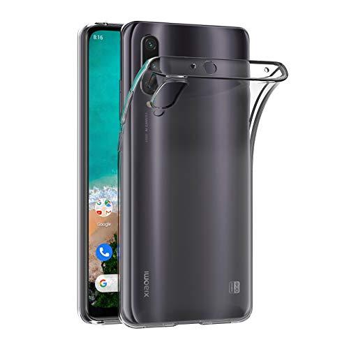 AICEK Hülle Compatible für Xiaomi Mi A3 Transparent Silikon Schutzhülle für Xiaomi Mi A3 / Xiaomi Mi CC9e Hülle Clear Durchsichtige TPU Bumper Xiaomi A3 Handyhülle (6,01 Zoll)