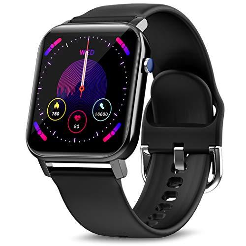 Reloj inteligente KOSPET para hombre, 1.4in, con 31 modos deportivos, reloj inteligente con frecuencia cardíaca, monitor de sueño y seguimiento de pasos, seguimiento de actividad en espera de 60 días, compatible con iOS Android