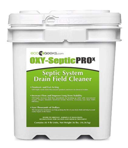 ecoGeeks OXY-Septic Drain Field De-Clogger, Cleaner, Maintainer