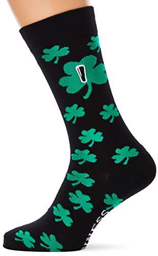 Guinness Herren BLK Guin A/O SHAM Socken, Schwarz (Schwarz Schwarz), Einheitsgröße