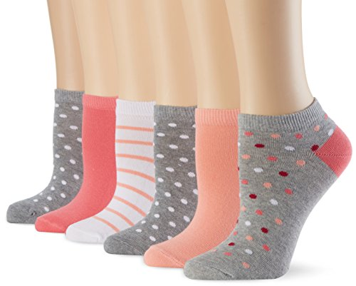 MyWay Ordinary Pink, Calcetines Mujer Pack 6, Multicolor
