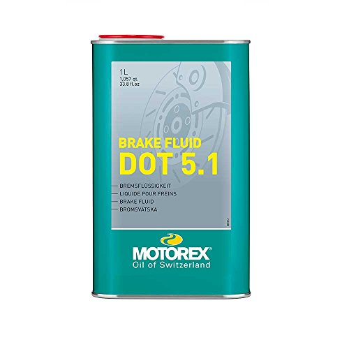 SHIMANO Motorex Brake Fluid Dot 5.1 Liq. Frenos Botella 1l,