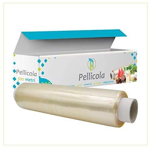 Palucart® 1 pellicola alimenti 300 metri rotolo alimentare professionale con box