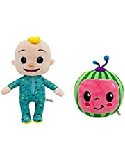 CoCo melon & JJ dolls pack of ( 2 ) doll plush toy for boys and girls babies toddler gift toy standard size toys coco melon