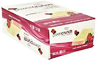 Bionutritional Research Group Power Crunch, Wild Berry, 5 Count