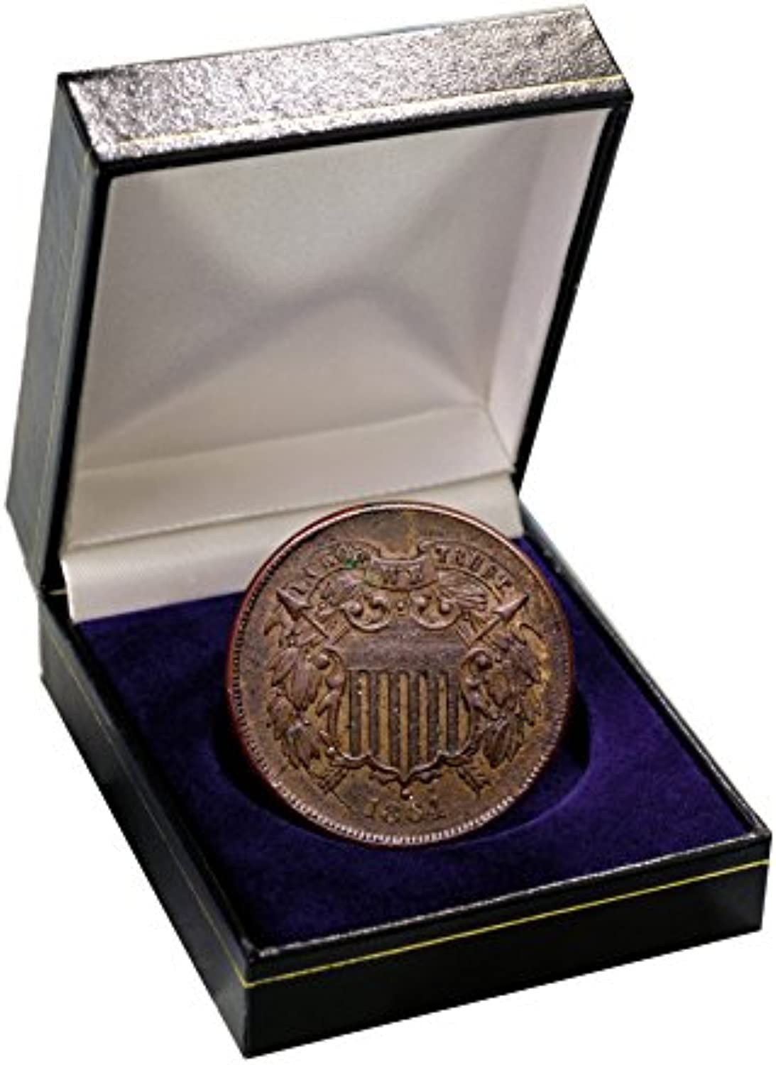 American Coin Treasures First Year of Issue 2 Cent Piece 1864 by American Coin Treasures