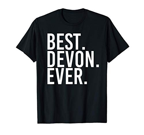 BEST. DEVON. EVER. Funny Personalized Name Joke Gift Idea T-Shirt