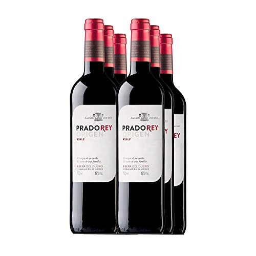 PRADOREY Roble Origen-Vino tinto - Roble- Ribera del Duero - 95% Tempranillo, 3% Cabernet...
