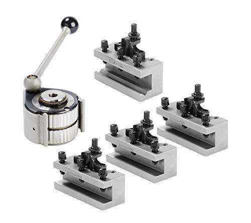 WABECO Schnellwechsel Stahlhalter Set Größe Aa (A0) System Multifix mit Bohrstahlhalter und Drehstahlhalter