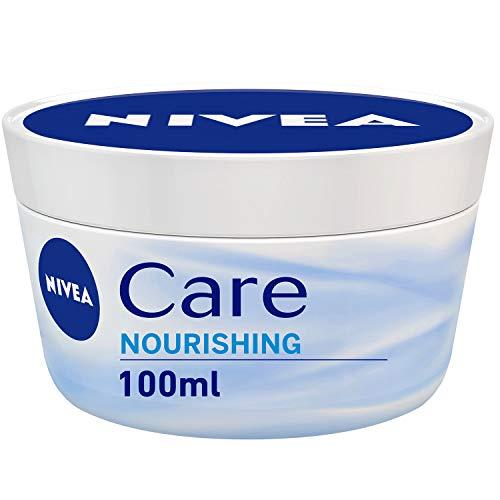 NIVEA 4er Pack Creme für Körper & Gesicht, 4er Pack (4 x 100 ml), Care Intensive Pflege, zieht schnell ein, feuchtigkeitsspendend