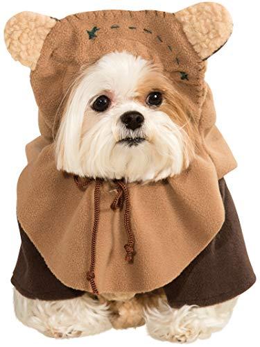 Generique Star Wars Ewok Hundekostüm Lizenzware braun M
