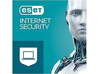 ESET Internet Security for Windows 2020 | 3 Devices 1 Year | Official Download with License (No CD)
