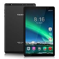 Tablet 10 Pollici 5G WiFi - TOSCIDO Android 10.0,1920x1200 HD IPS,Octa Core, 64G ROM, 4GB di RAM, 13MP e 5MP Camera, WiFi / Bluetooth5.0 / GPS, 6000 MAh, Tipo C - Nero