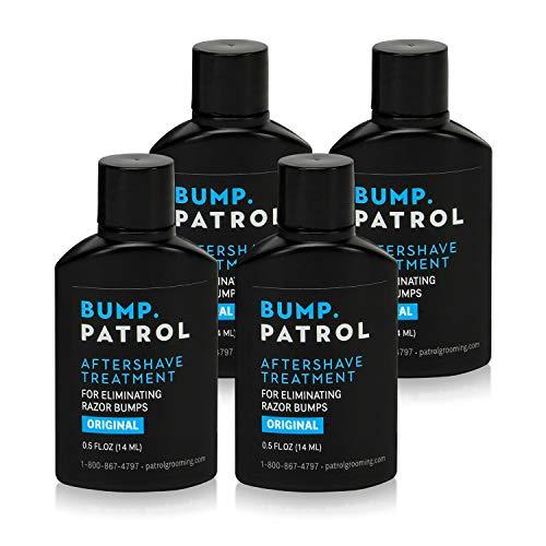 Bump Patrol Original Formula After Shave Bump Treatment Serum - Razor Bumps, Ingrown Hair Solution for Men and Women - 0.5 Ounce 4 Pack