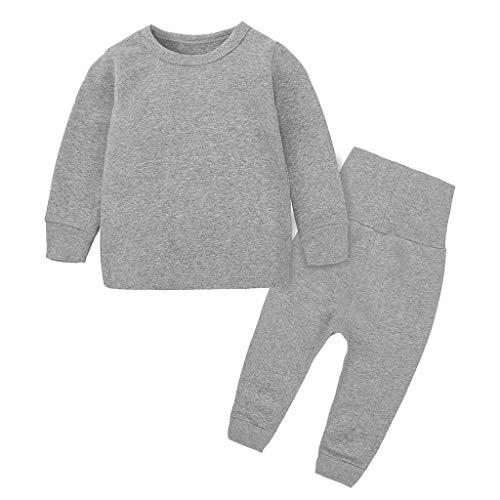Schlafanzug Für Jungen, Kinder Schlafanzug Lange, warm Pyjama Langarm Kinder,...