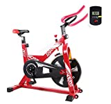 Shocly Bicicleta De Spinning Bicicleta Fitness Plegable...