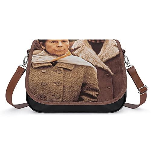 Harold e Maude Filmposter - Borse vintage da donna, borsa a tracolla retrò, borsa a tracolla