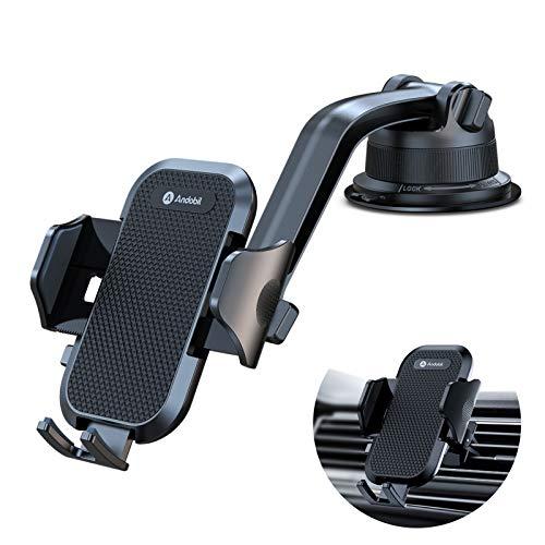 andobil Handyhalterung Auto Saugnapf & Lüftung,Upgraded Ultra-Stable handyhalter Auto Smartphone kfz Halterung Auto Kompatibel für iPhone iPhone 12 Pro/12/12 Pro Max/12 Mini/11/11 Pro/Oneplus usw.