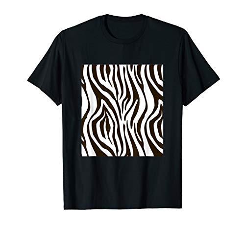 Halloween Kostüm Zebra Verkleidung T-Shirt