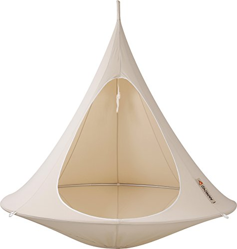 Vivere Double Cacoon, Natural/White