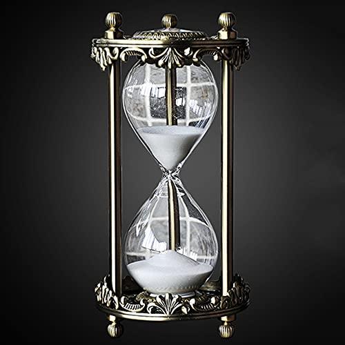 Reloj Arena 30 Minutes,Hourglass Timer,Temporizador De Reloj De Arena De Cristal Transparente Reloj De Arena Artesanía Decoración De Vidrio,Clock Ornamento