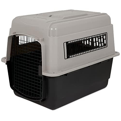 Petmate Ultra Vari Kennel 32' 30-50LB, Taupe/Black (21552)