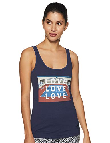 adidas - Tennis-T-Shirts für Damen in Dunkelblau, Größe XS