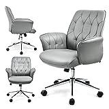 UMI. Essentials Chaise de Bureau Fauteuil de Direction Ergonomique (Gris)
