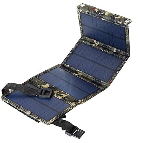 El cargador de batería plegable del panel solar portátil del banco de...