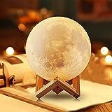 NSL Lighting Lampara de luna Luz de la luna Luces de la noche de la luna para los niños. Bola de luz de la luna Lámparas de luna para habitaciones