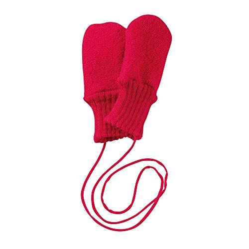 Disana Walk-Handschuhe Schurwolle kbT (1 (5-12 Monate), Rot-A)