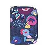 Travelon RFID Blocking Passport Zip Wallet, Mod Floral, One Size