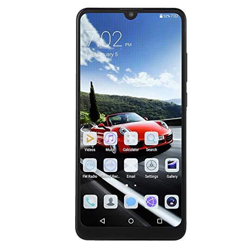 6,3 pulgadas HD Teléfono móvil 3G con 2G + 32G, 8MP + 16MP Cámara Pantalla completa Huellas dactilares y Desbloqueo facial Smart Phone Support Doble tarjeta de litio-ion de reserva 4800mAh (UE)