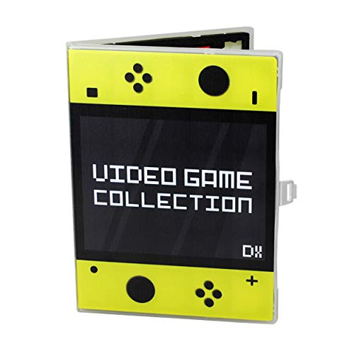 UniKeep Game Case for Nintendo Switch Cartridges - Holds 60 Games Securely in Foam (Yellow)