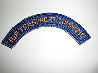Embroidered Patch - Patches for Women Man - USAAF AIR Transport Command WWII ERA