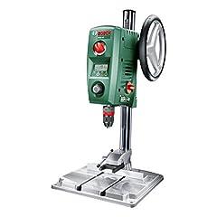 Wiertarka stołowa Bosch PBD 40 (710 W, maks. średnica wiercenia w stali/drewnie: 13 mm/40 mm, skok wiercenia 90 mm, w kartonie)
