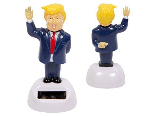 Alsino Wackelfigur Solar Mr. President winkend Präsident der USA Figur 11 cm Solarfigur - Keine Batterien notwendig 57/9801